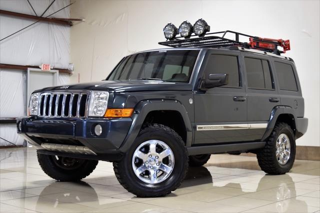Jeep Commander Limited Quadra Drive Ii Hemi Lifted X Low Miles Fully Loaded