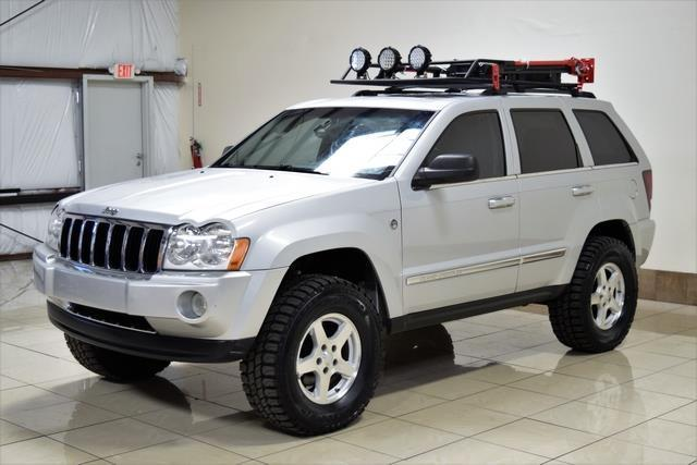 1j8hr58215c587786 jeep grand cherokee limited lifted 4x4 off road lights low miles super clean. Black Bedroom Furniture Sets. Home Design Ideas