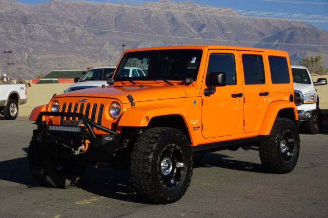 1c4bjweg4dl510564 jeep wrangler sahara 4 door hardtop custom lift wheels tires bumper winch nav. Black Bedroom Furniture Sets. Home Design Ideas