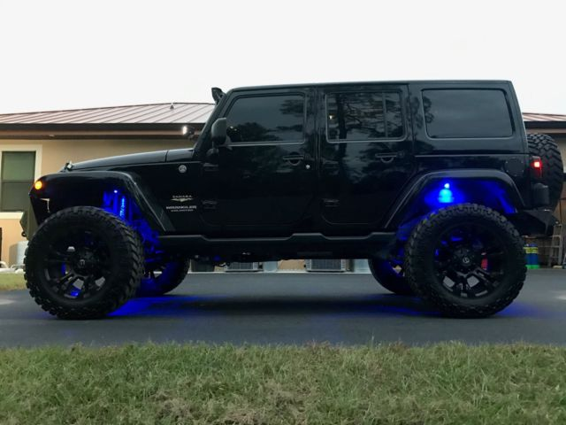1c4hjweg5dl684962 jeep wrangler sahara unlimited custom lifted rigid. Cars Review. Best American Auto & Cars Review