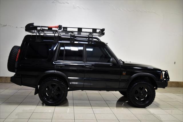 saltw19454a857043 land rover discovery 2 se7 lifted fully loaded low miles 3rd row seats roof rack. Black Bedroom Furniture Sets. Home Design Ideas
