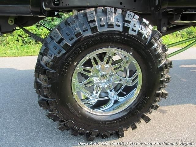 1ftrw08w51kd74933 Lifted Solid Axle 44 Super Swamp Boggers Fuel Wheels Custom Huge Lift Conversion