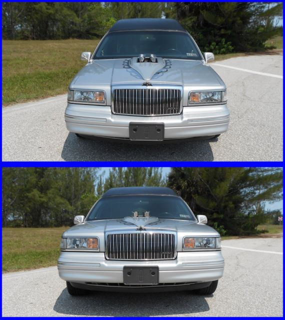 LINCOLN TOWN CAR CUSTOM HOT ROD HEARSE