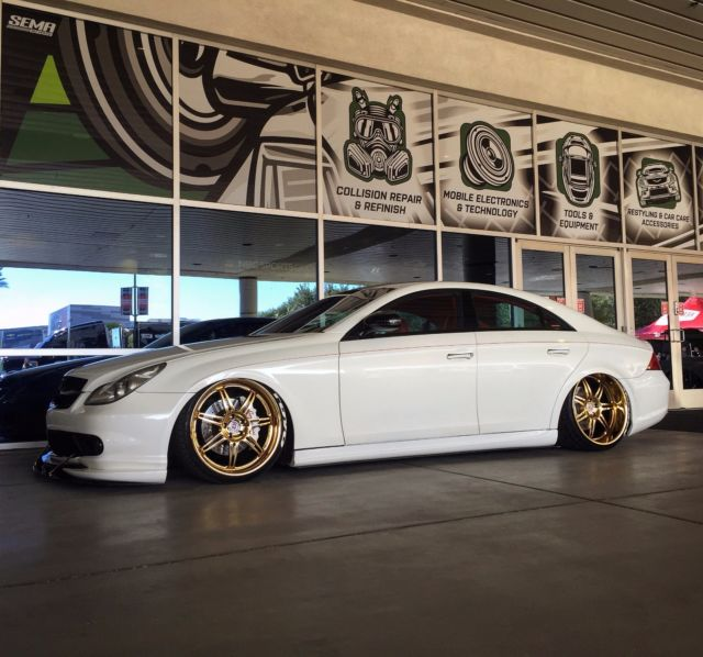 Mercedes cls custom sema show car - Mercedes car show ...