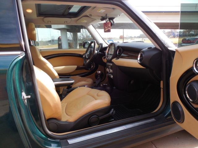 wmwmf73517tt84733 mini cooper s british racing green tan interior. Black Bedroom Furniture Sets. Home Design Ideas