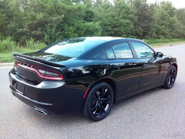 NEW 2016 DODGE CHARGER BLACKOUT