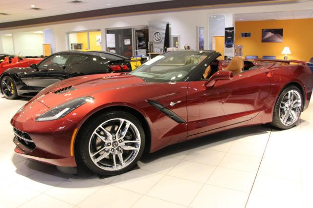 New 2017 Chevrolet Corvette Long Beach Red Tintcoat For