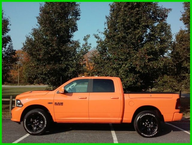 1c6rr7mtxhs577930 new 2017 dodge ram 1500 4wd sport header orange collector 39 s truck hemi. Black Bedroom Furniture Sets. Home Design Ideas