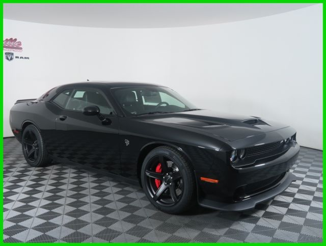 2c3cdzc96hh507691 New Black 2017 Dodge Challenger Srt Hellcat Supercharged Backup Camera Nav
