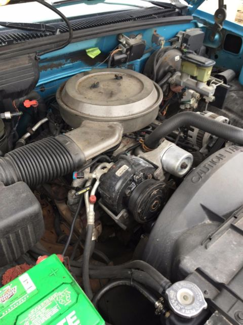 2gtec19k0r1580567 Parts Only Not For Driving 1994 Gmc Sierra 1500 Sle Extended Cab 350 V8