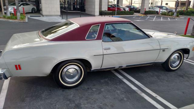 1d37h5b410074 Pristine 1975 Chevy Malibu Classic Only