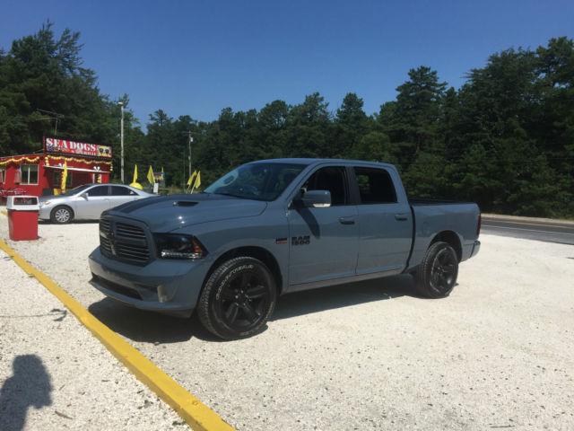 1c6rr7mt6fs753627 Ram 1500 Sport Crew Cab Ceramic Blue 5