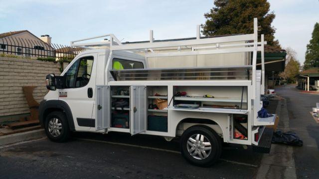3c7wrvsg2ee123145 Ram Promaster Custom Utility Truck