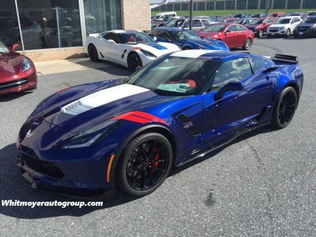 1g1y12d75h5102288 Rare 2017 Corvette Grand Sport