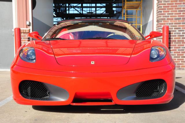 Zffew59a560147504 Red Ferrari F430 Spider With Black Top
