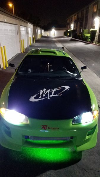 replica fast and furious eclipse signed by cody walker and noel g 4a3ak54f4te294047 used cars for sale from usa