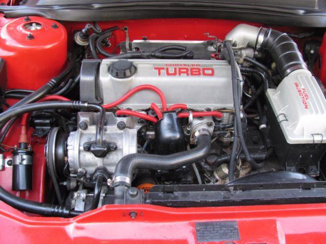 1b3ba64e9gg301772 Shelby Dodge Daytona Turbo Z Cs