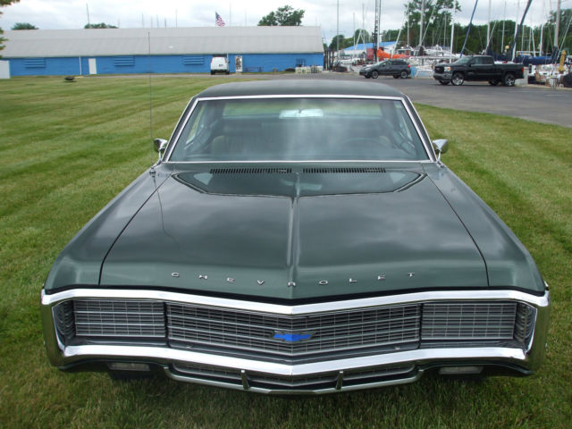 166479l017205 Sweet 1969 Chevy Caprice Custom Coupe S Matching