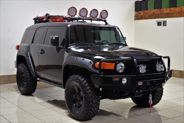 Custom Toyota Bumpers 4x4 : Jtebu f k toyota fj crusier lifted roof rack