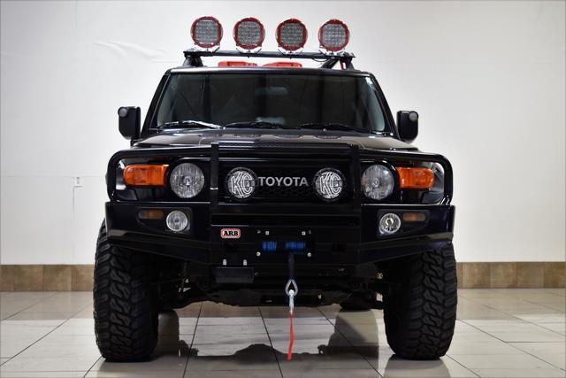 Jtebu11f38k041014 Toyota Fj Crusier 4x4 Lifted Roof Rack