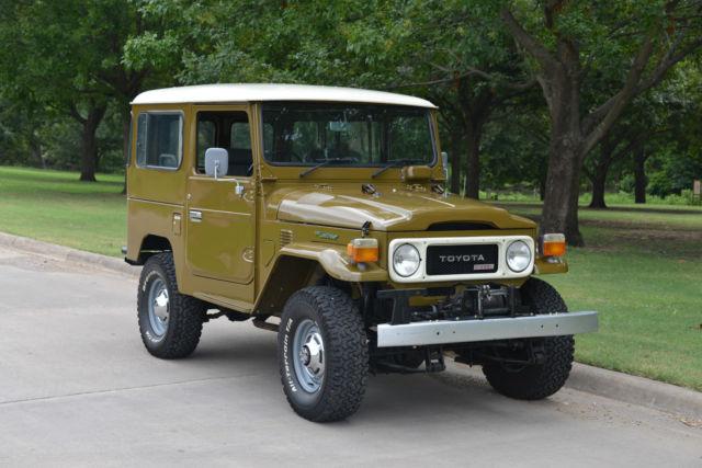 Bj41002458 Toyota Land Cruiser Diesel Bj41 With Factory