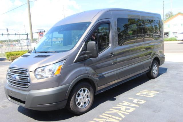 1fbzx2cg2fkb11108 transit 350 xlt 3 5 liter v6 12 passenger charcoal grey high roof. Black Bedroom Furniture Sets. Home Design Ideas