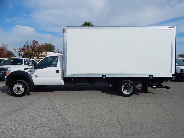 1fduf5gtxdeb84610 Used 2013 Ford F550 16 Box Truck 6 7l